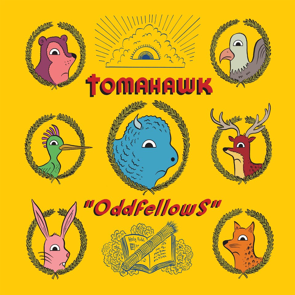 Tomahawk, Oddfellows, Mike Patton, Duane Denison, John Stanier, Trevor Dunn, rock, ipecac records