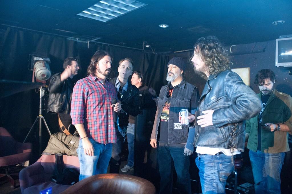 Dave Grohl, Soundgarden, Chris Cornell, Kim Thayil, Ben Shepard, Matt Cameron