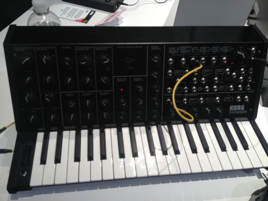 Korg MS-20 mini, NAMM