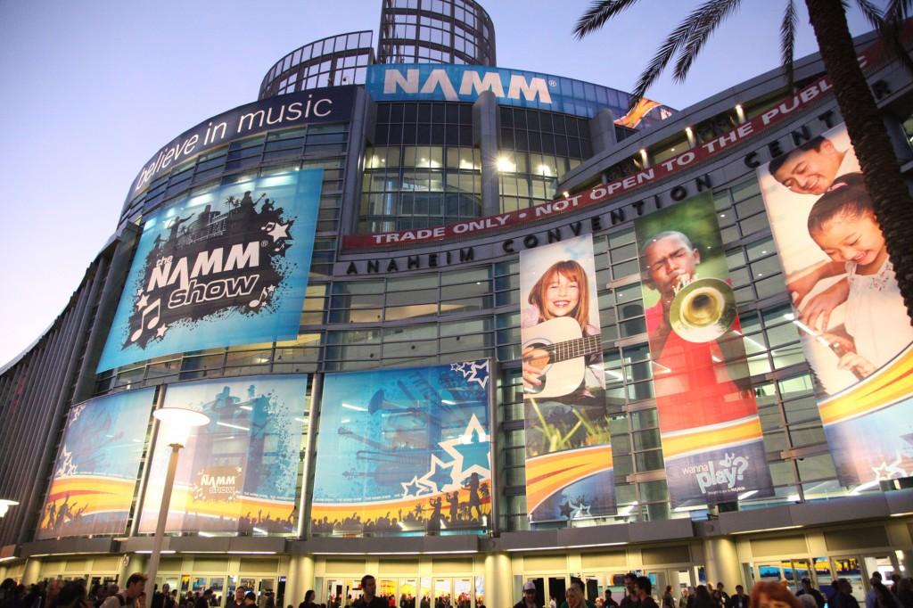 NAMM, NAMM Show Anaheim, music trade show,