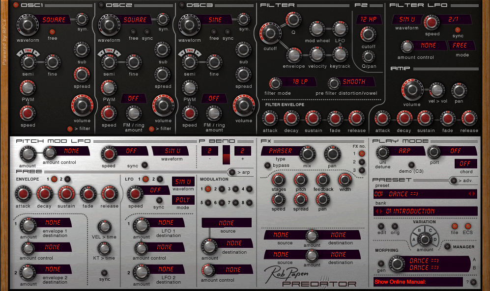 Rob Papen, EDM Synth Bundle, Urban Synth Bundle, Predator
