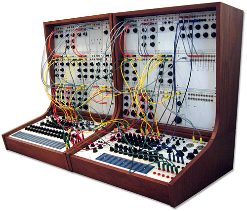 Buchla, Buchla Series 100 Modular Electronic Music System, modular synth
